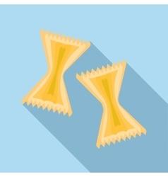 Pasta icon flat style vector image