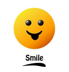 Smiley face poster world smile day smiley vector