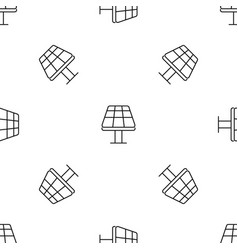 sun panel pattern seamless vector image