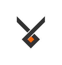 V letter initial logo design vector
