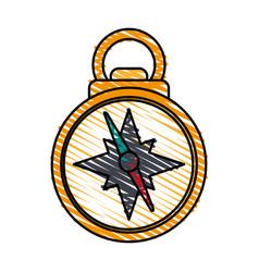 Compass icon image vector