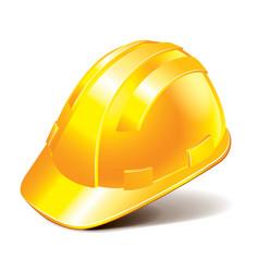 Object engineer helmet vector