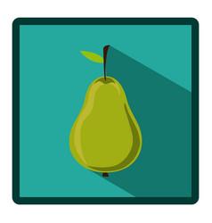 symbol pear icon image vector image vector image