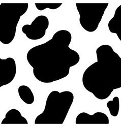 Cow pattern background design element vector image
