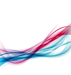 Modern swoosh abstract smooth hi-tech line vector image