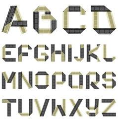 Abc film vector
