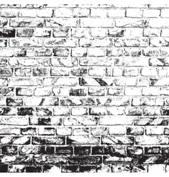 Dirty Brick Wall vector image vector image