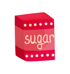 pack of sugar vector image