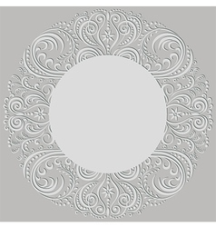 Swirling pattern vector