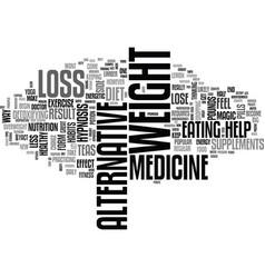 Alternative medicine is preventive western vector
