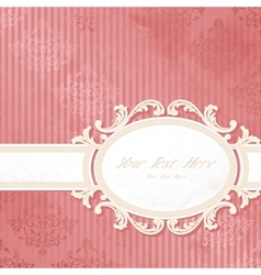 antique wedding background vector image