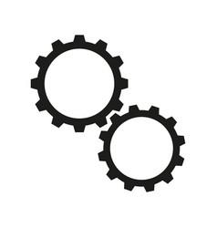 Cogwheels online icons vector