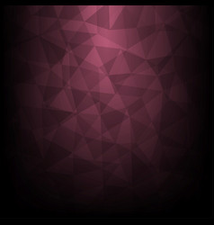 polygonal background with gradient background vector image