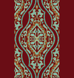 Red and blue pattern vector