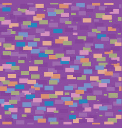 Seamless pattern of colorful geometric vector