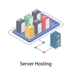 Server hosting vector