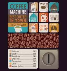 set stickers icons and design elements vector image