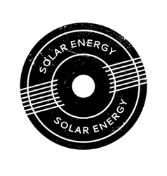 Solar Energy rubber stamp vector