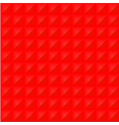Geometrical abstract seamless pattern in red color vector image