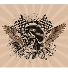 vintage emblem vector image vector image