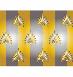 silver and gold vector image