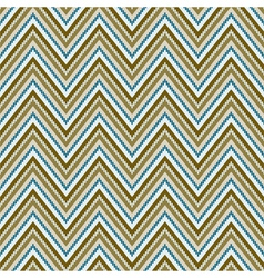Zig-zag background Seamless pattern vector image vector image