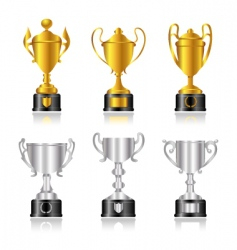 award set vector image