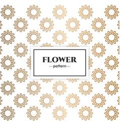 Floral luxury pattern design vector
