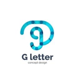 G letter logo icon vector