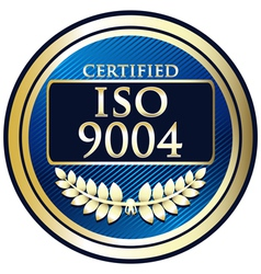 ISO 9004 vector image