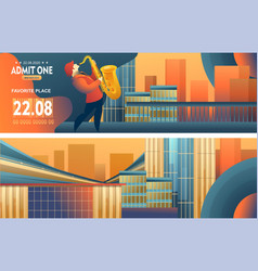 Jazz and blues vector