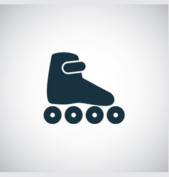 roller skate icon trendy simple symbol concept vector image