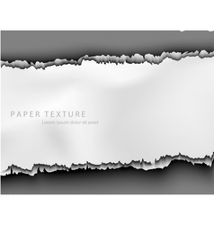 Template for the text from the paper background vector image