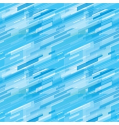 Geometric blue business background vector image