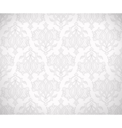 Vintage seamless lace vector image
