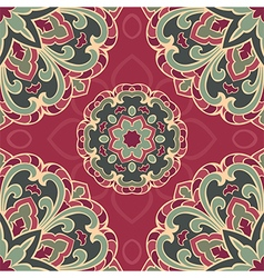 Colorful pattern of mandala vector image