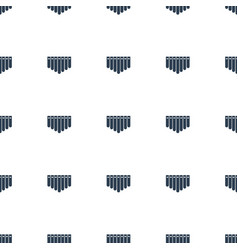 harmonica icon pattern seamless white background vector image