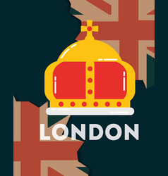 Love visit london vector