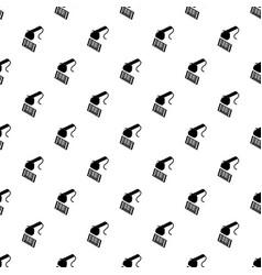 Market code scanner pattern seamless vector