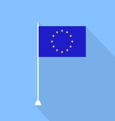 National flag of the European Union vector image