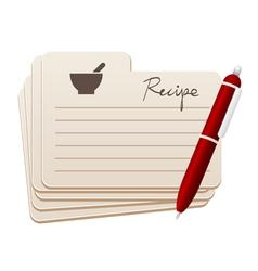 Recipes vector