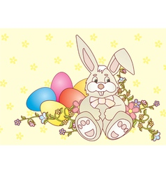 rabbit easter2 Converted vector image