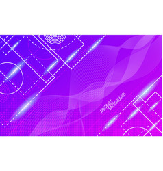 abstract background dynamic glowing shapes vector image