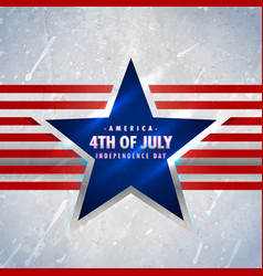 American 4th july background vector
