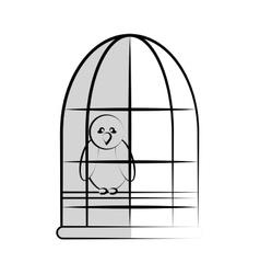 animal cartoon icon vector image