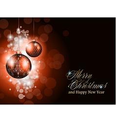Elegant greetings background vector image