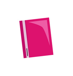folder isolated vector image