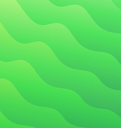 Light green waves abstract background Converted vector