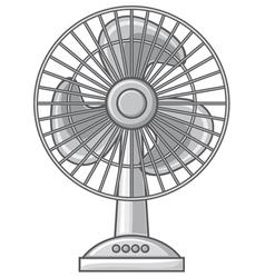 table fan vector image vector image