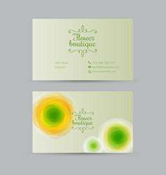wedding salon flower shop beauty logo vector image